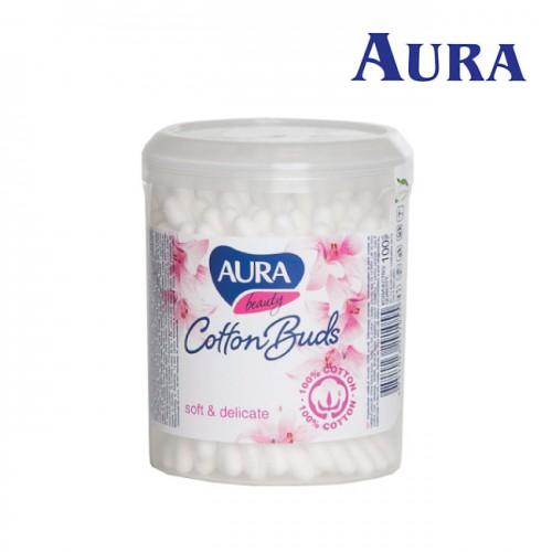 Aura Beauty vates kociņi karbiņā 100 gab