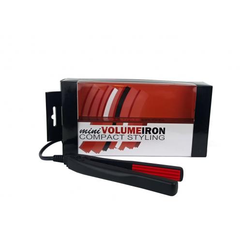 Matu gofrētājs Mini Volume Iron, melns