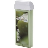 ITALWAX CLASSIC Flex Wax For Depilation OLIVE OIL 100ml - Mīkstais vasks titāna dioksīds ar olīvu eļļu