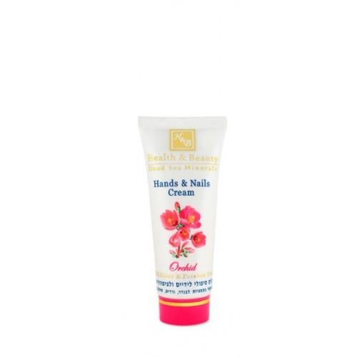 Health & Beauty Dead Sea Hand & Nails Cream Orchid 100ml/3.4fl.oz - roku un nagu krēms