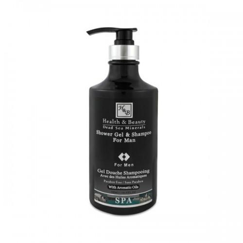 Shower Gel & Shampoo For Men 780ml - šampūns - dušas želeja vīriešiem