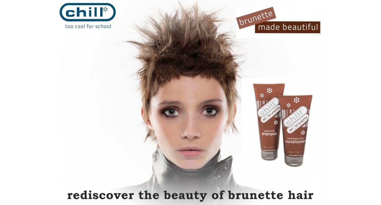 ed brunetes atklāj matu skaistumu...
