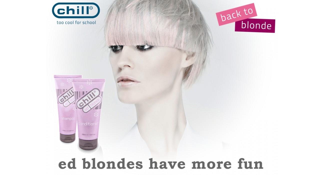 ed blondīnēm ir vairāk jautrības!