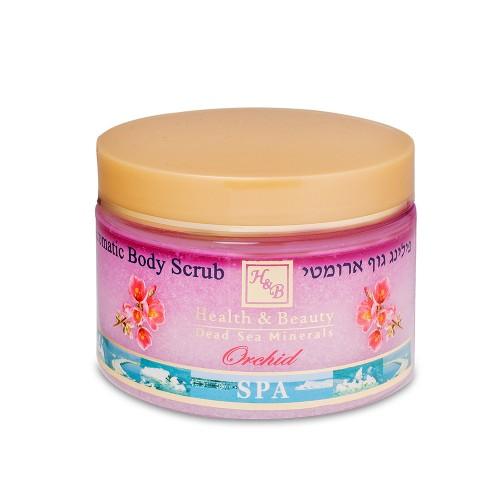 H&B Aromatic Body Peeling - Aromatizētais ķermeņa sāls skrubis - Orchid