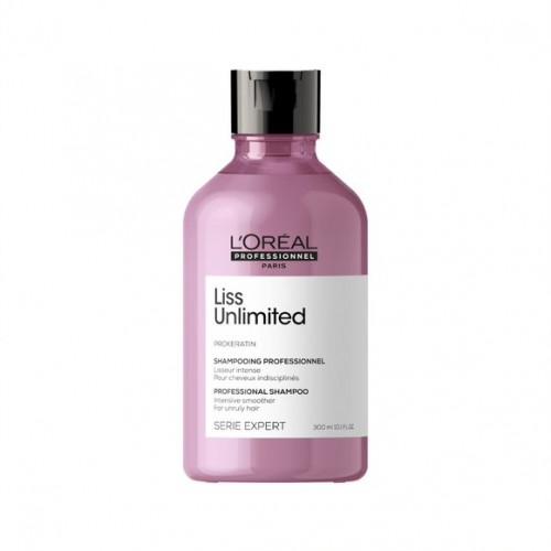 L'Oreal Professionnel Serie Expert Liss Unlimited Shampoo - nogludinošs šampūns sausiem un nepaklausīgiem matiem