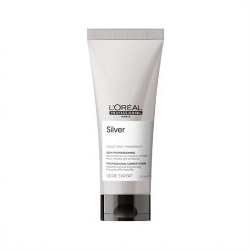 L'Oreal Professionnel Serie Expert Silver Conditioner - Neitralizējošs kondicionieris sirmiem vai balinātiem matiem