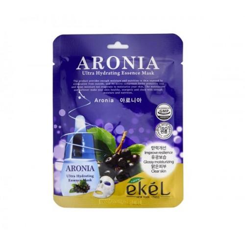 EKEL Aronia Acid Utra Hydraiting Essence - Mitrinoša, vitamīnu auduma maska