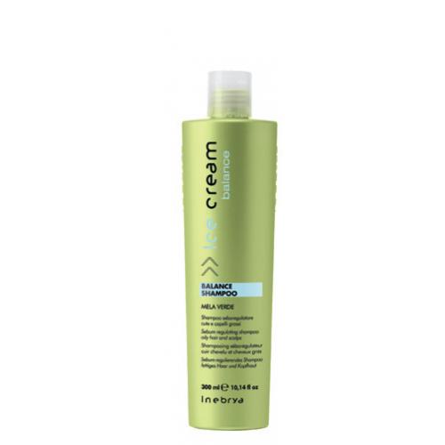 Inebrya Ice Cream Balance šampūns taukainiem matiem 300ml