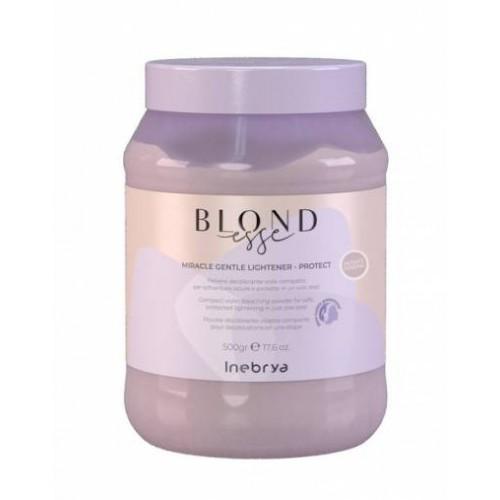 Inebrya Blondesse Miracle Gentle Light-Protect - balināšanas pulveris ar matu aizsārdzību