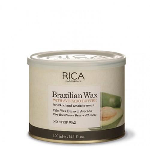 Brazilian Avokado Wax RICA 400ml - Brazīlijas vasks / cietais vasks