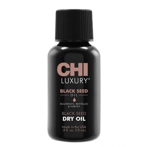 CHI Luxury Black Seed Dry Oil - eļļa matiem, 15ml