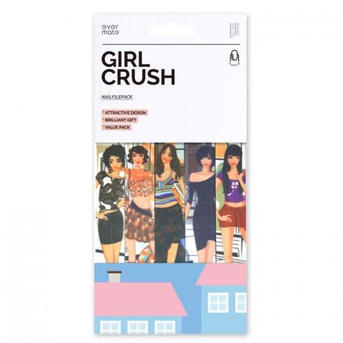 Nagu smilšpapīra vīlītes MAXMATE EVERMATE GIRL CRUSH, komplekts-5 gab.