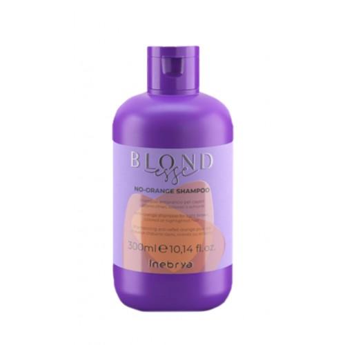 Inebrya Blondesse No-Orange shampoo - šampūns pret oranžiem matiem