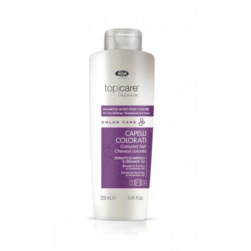 Lisap Milano COLOR Care Post Color Shampoo - Skāba ph šampūns pēc matu krāsošanas