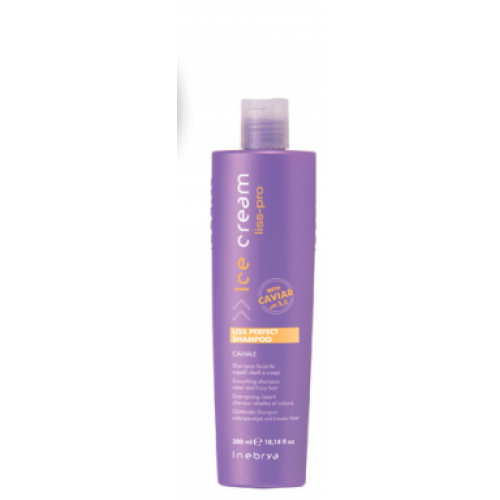 Inebrya Ice Cream Liss Perfect matus nogludinošs šampūns 300ml