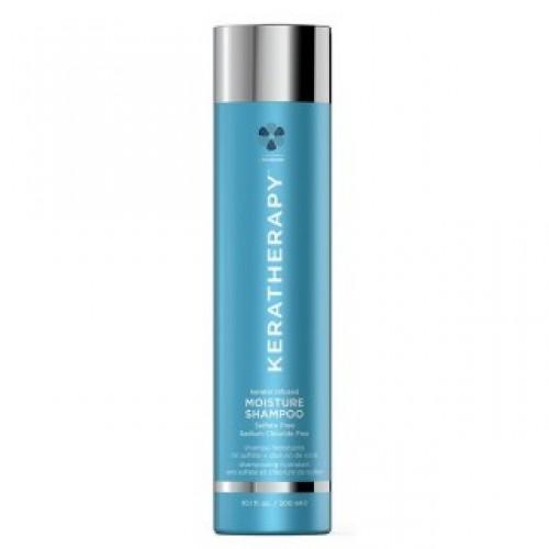 Keratherapy Keratin Infused Moisture Shampoo Mitrinošs šampūns ar keratīnu, 300ml