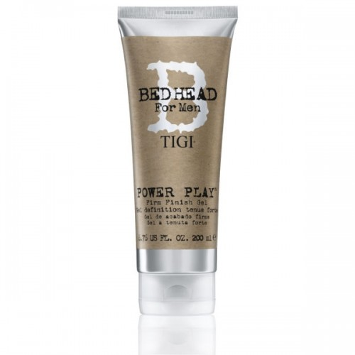 Tigi Bed Head For Men Power Play Firm Finish Gel Matu želeja stiprai fiksācijai 200ml