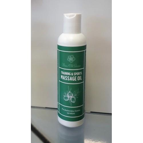 Training & Sports massage oil masāžas eļļa 200ml