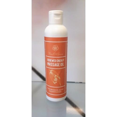 Renewed Energy massage oil masāžas eļļa 200ml