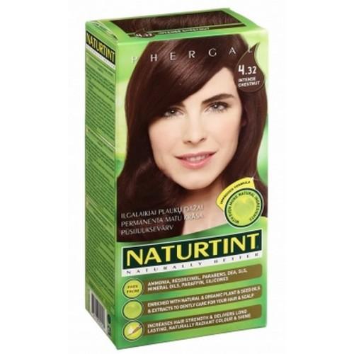 Naturtint Green technologies matu krāsa 4.32 INTENSĪVI KASTAŅBRŪNS 165ml
