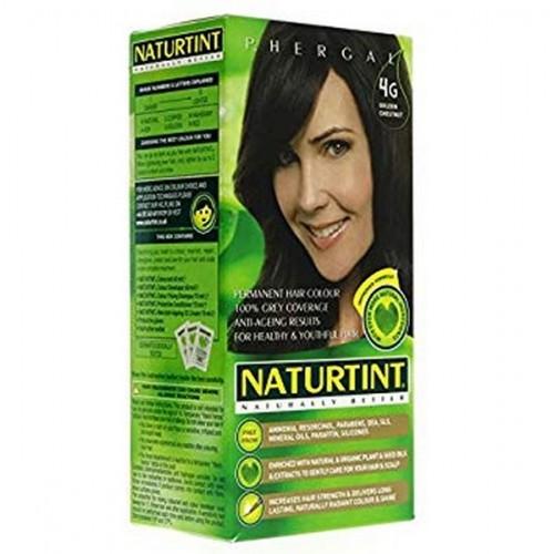 Naturtint Green technologies matu krāsa 4G zeltainais kastanis 165ml