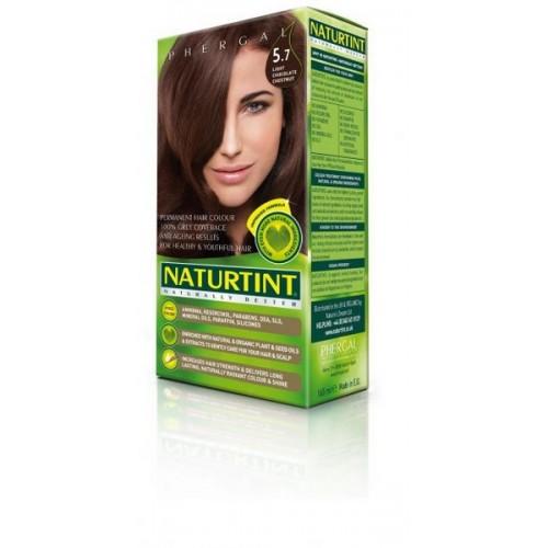 Naturtint Green technologies matu krāsa 5.7 GAIŠS ŠOKOLĀDES BRŪNS 165ml