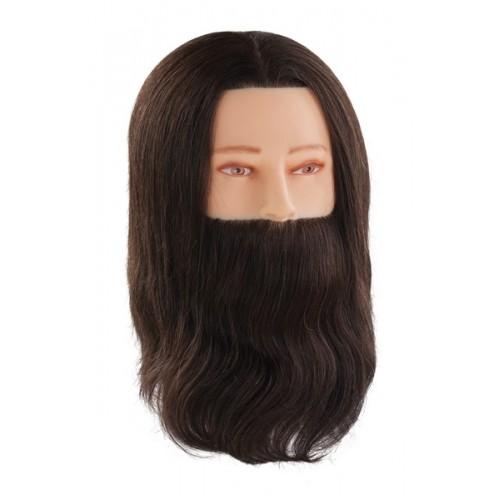 Manekena galva/manekens GENTLEMAN / PAUL ar naturāliem matiem un bārdu