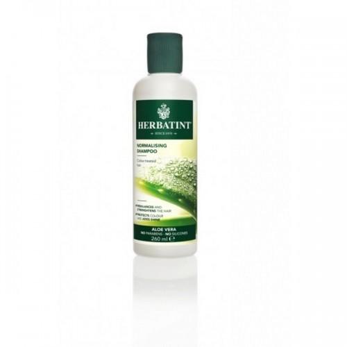 HERBATINT NORMALISING SHAMPOO - dziļi attīrošs šampūns ar alvejas ekstraktu 260ml