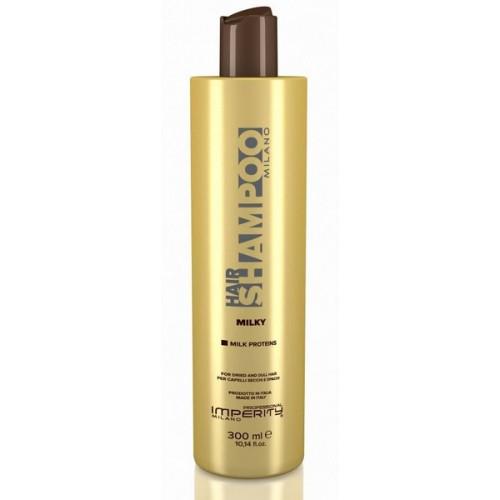 IMPERITY Milano Milky Shampoo - atjaunojošs šampūns ar piena proteīnu, 300ml