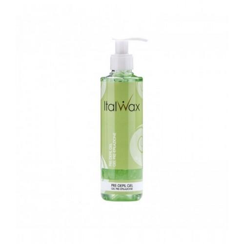 ITALWAX Pre wax gel with ALOE 250ml - gēls pirms depilācijas