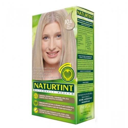 Naturtint Green technologies 10A LIGHT ASH BLONDE 165ml - matu krāsa