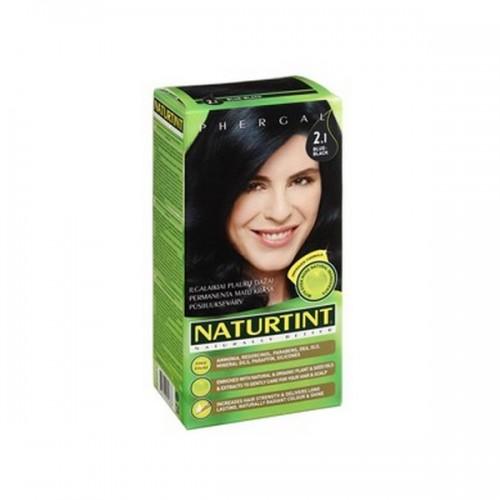 Naturtint Green technologies matu krāsa 2.1 Zili melns 165ml
