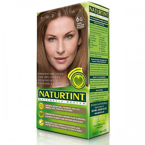 Naturtint Green technologies 6G Dark Golden Blonde 165ml - matu krāsa