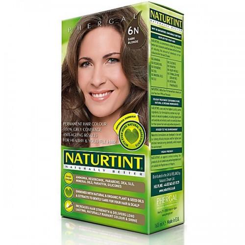 Naturtint Green technologies matu krāsa 6N TUMŠI BLONDS 165ml
