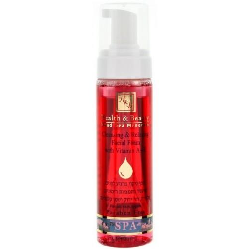Health & Beauty Cleansing&Relaxing Facial Foam with Vitamin A+E - attīrošas putas sejai