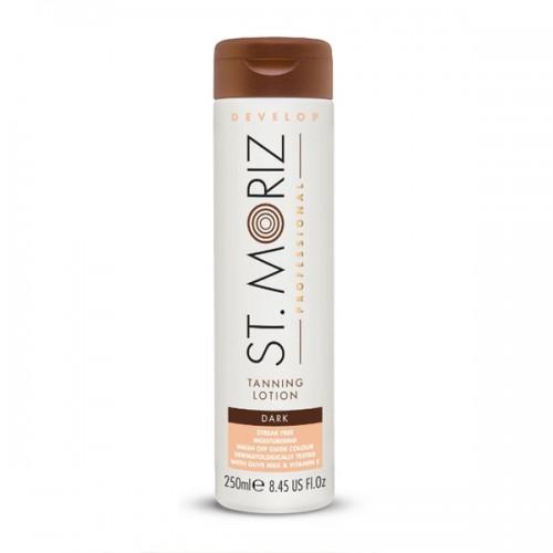 St. Moriz Professional Tanning Lotion Dark 250ml - pašiedeguma krēms tumšam iedegumam