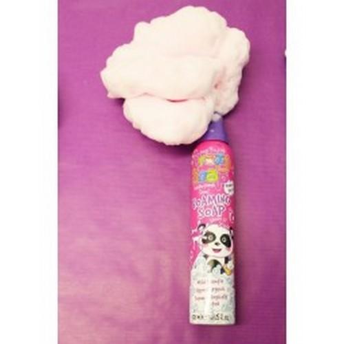 Kids Stuff Crazy Foam Soap Pink 225ml - rozā formu veidojošas vannas putas