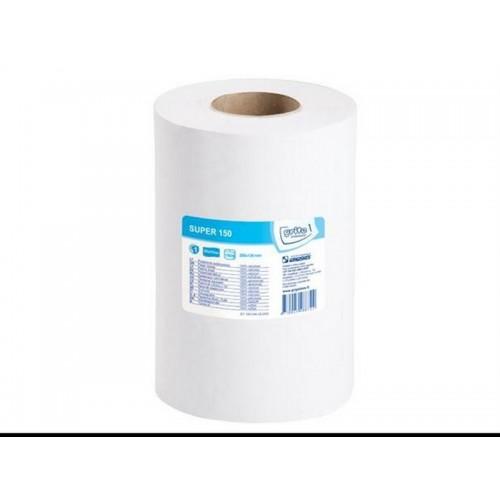 Papīrs solāriju tīrīšanai - roku dvielis (ievietojams turētājos) 1-kārtu/ 1 rullis