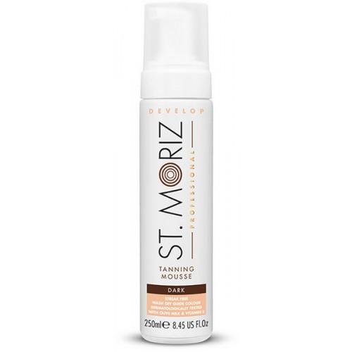 St. Moriz Professional Tanning Mousse Dark 200ml - paštonējošas putas tumšam iedegumam