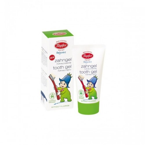 TOPFR gēls piena zobu tīrīšanai ar kliņģerītēm 50ml