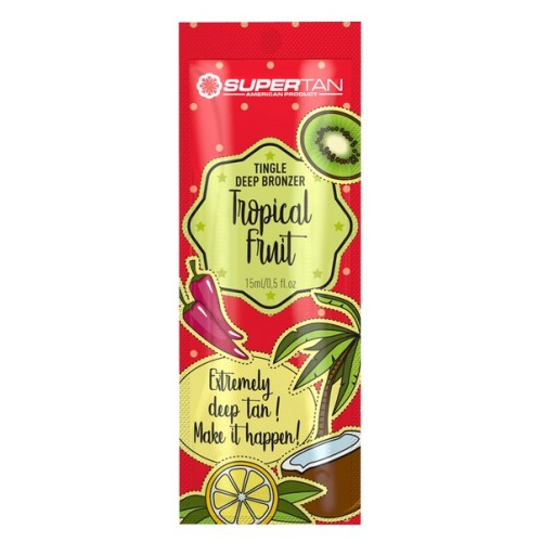 Solārija krēms SUPERTAN Tropical Fruits 15ml