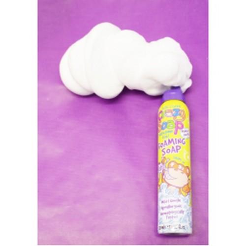 Kids Stuff Crazy Foam Soap WHITE 225ml - baltas formu veidojošas vannas putas
